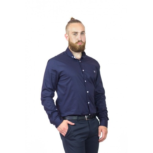 "SHIRT ""TRUST"" DARK BLUE"
