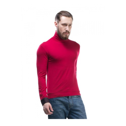 "TURTLENECK ""PIPE"" RED"