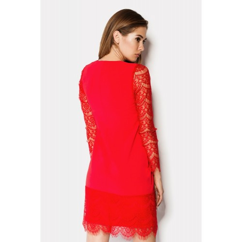 "DRESS ""CEREMONY"" RED"