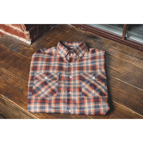CHECKED SHIRT IN RED & BLUE