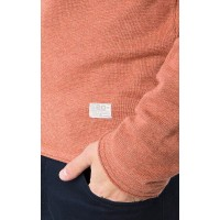 JUMPER TERRACOTTA MELANGE