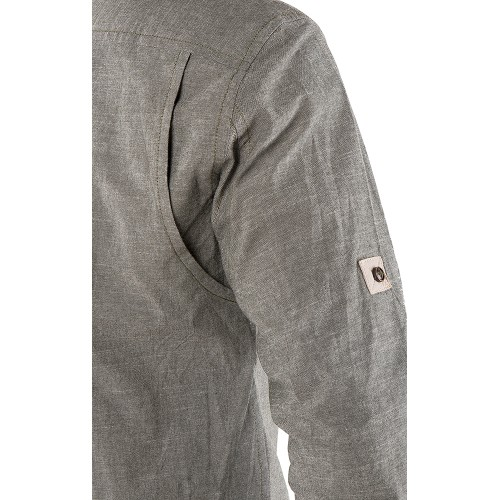 SHIRT GREY MELANGE