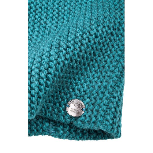 KNIT BEANIE SEA GREEN