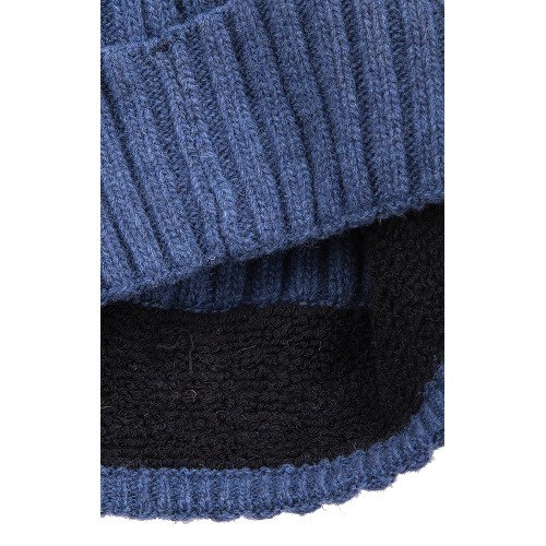 DENIM WOOL BEANIE