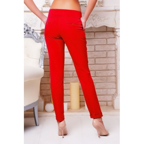 """TROUSER PANTS """"HILLORY"""" RED"""