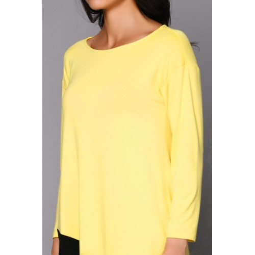 JUMPER YELLOW WITH BLACK GUSSETS