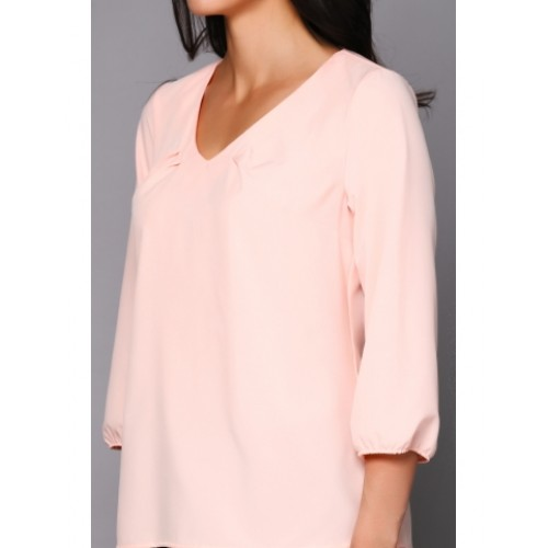 BLOUSE LIGHTWEIGHT PEACH