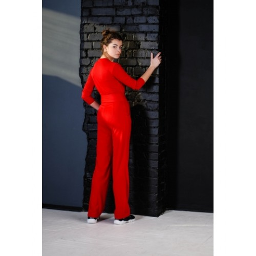 "JUMPSUIT ""JHIVA"" RED"