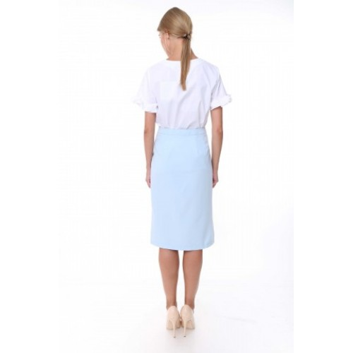 """BASIC STORY"" MINT SKIRT"